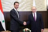 Poutine rencontre Assad à la veille d'un sommet tripartite sur la Syrie