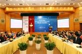 Mise en chantier de l'Institut des sciences et technologies Vietnam - R. de Corée