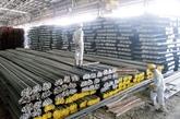 Hausse spectaculaire des importations d'acier et de fer du Brésil et d'Inde en dix mois