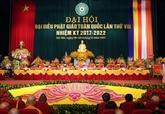 Le 8e Congrès national de l'Église bouddhique du Vietnam s'ouvre à Hanoï
