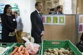 France : Macron lance la campagne hivernale des Restos du Cœur