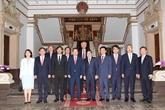 Le président du Parti de la liberté de Corée à Hô Chi Minh-Ville