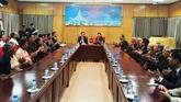 Hanoï : rencontre avec des citoyens lao méritants de la Révolution vietnamienne