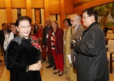 La présidente de l'Assemblée nationale apprécie le rôle du Conseil mondial de la paix