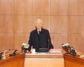 Nguyên Phu Trong demande d'accélérer la lutte contre la corruption