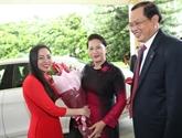 La présidente de l'AN entame sa visite à Singapour