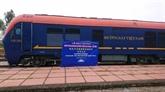 Chine-Vietnam : un train transportant des marchandises de Jiangxi est arrivé à Hanoï