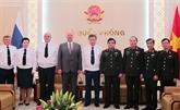 Le Vietnam et la Russie partagent des expériences dans le justice militaire