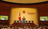 La 4e session de la XIVe législature de l'Assemblée nationale poursuit ses travaux