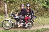 Xe ôm, le nouveau métier des ethnies à Hoàng Su Phi