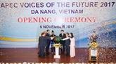 APEC 2017 : Ouverture du Forum des voix du futur
