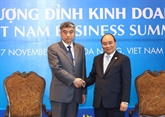 APEC 2017 : le Premier ministre reçoit des hommes d'affaires étrangers