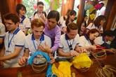 APEC 2017 : les jeunes délégués à la découverte de Quang Nam