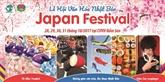 Festival de la culture japonaise au parc Dâm Sen