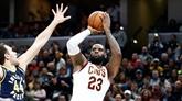 NBA : LeBron James et James Harden, rois du