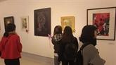 Une exposition sur les beaux-arts rend hommage au Président Hô Chi Minh