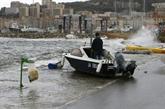 Neige et vents violents perturbent l'ouest de l'Europe