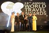 Tourisme : le Vietnam honoré par les prix