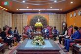 L'ambassadeur de France à Hanoï visite la radio nationale La Voix du Vietnam