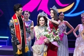 Phuong Lê sacrée Mrs World Peace 2017