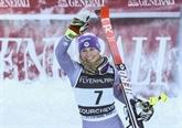 Ski : Worley 2e du géant de Courchevel derrière Shiffrin