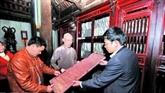Inauguration de la maison des môc ban de la pagode de Vinh Nghiêm