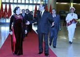 Le président de la Chambre des représentants du Maroc termine sa visite au Vietnam