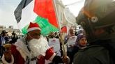 Noël : les tensions sur Jérusalem ternissent les festivités à Bethléem