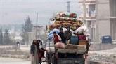 Combats aux portes d'Idleb entre régime et jihadistes, évacuations dans la Ghouta