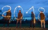 Le monde se prépare à basculer dans 2018