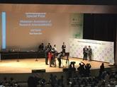 Le Vietnam remporte d'importants prix à la foire internationale de l'innovation de Séoul