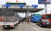 Mise hors service temporaire de la station de péage BOT de Cai Lây