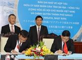 Intensifier la coopération entre Bà Ria-Vung Tàu et la ville japonaise de Sanjo