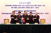 Le Vietnam et l'OIT signent un pacte de coopération sur l'emploi durable
