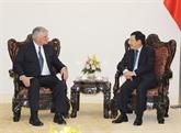 Le vice-Premier ministre Pham Binh Minh reçoit le président du SPIR