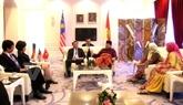 Une délégation du Parti communiste vietnamien au congrès de l'UMNO de Malaisie