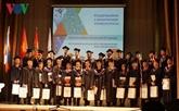 Russie : diplôme d'excellence d'étudiants vietnamiens en nucléaire