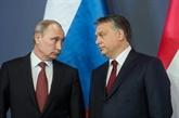 Le président russe VladimirPoutine en Hongrie