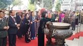 Célébration du 1977e anniversaire de l'insurrection des deux sœurs Trung