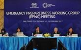APEC 2017 : 11e session du groupe de travail sur la confrontation aux situations d'urgence