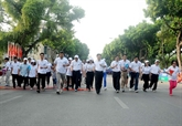 Les Vietnamiens appelés à bouger pour leur santé