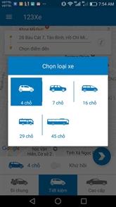 123Xe, nouvelle application de transport au Vietnam
