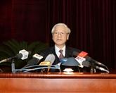 Le chef du Parti demande de renforcer le travail de contrôle et de surveillance
