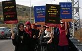 Cisjordanie : des Palestiniennes et Israéliennes marchent contre l'occupation