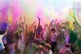 Bientôt la Fête des couleurs Holi de l'Inde au Vietnam