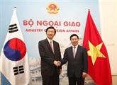 Poursuivre la promotion du partenariat stratégiqueVietnam - République de Corée