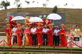 Inauguration de l'hippodrome Thiên Ma-Madagui