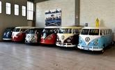 De vieux Combis Volkswagen retrouvent une nouvelle jeunesse à Florence