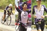 Un Vietnamien au Championnat du monde Ironman 70.3