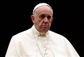 Le pape exprime
